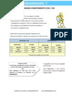 Les Pronoms Compléments Cod Def