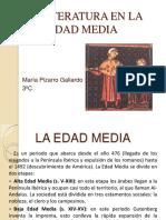Literatura en la Edad Media