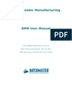 Batchmaster User Manual