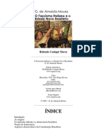 MOURA, G. O Fascismo Italiano e o Estado Novo Brasileiro