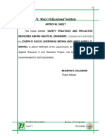 Acknowledegement Abstract Etc Thesis Template