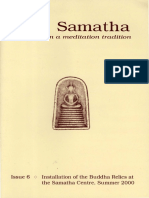 Samatha Journal  6 - Summer 2000