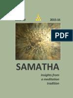Samatha Journal 14 - 2558-59 - 2015-16