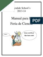 Lyndale Science Fair Handbook Elementary 2013-2014 - Spanish - 2