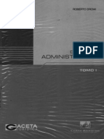 D° administrativo Tomo I (Roberto Dromi)