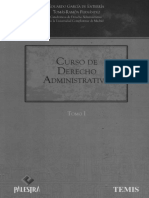 Curso D° administrativo Tomo I (Eduardo Garcia de Enterria)