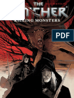 The Witcher Killing Monsters Comic En