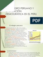 El Milagro Peruano y La Situación Demográfica En