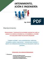 Mantenimiento-prevención e Ingeniería