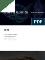 Doença de Parkinson (apresentação PPT baseado no livro de geriatria)