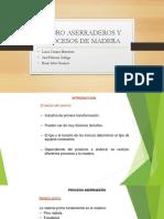 Rubro Aserraderos y Procesos de Madera Ppppt