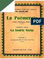 Langue Française Poésies La Poèmeraie Extraits Cahiers