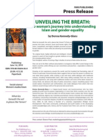 "Advanced Information of ""Unveiing the Breath"""