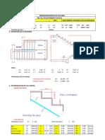 Hoja Excel Para El Dimensionamiento de Escalera- Ing. Genaro Delgado