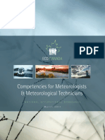 Competencies for Meteorologists & Meteorological Technicians