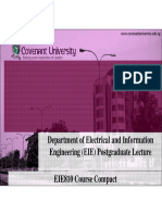 EIE810_Lecture Modules & Contents