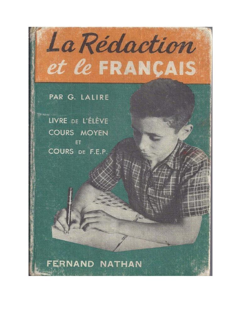 La Redaction Et Le Francais Pdf