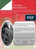Serie Numismatica Fauna Silvestre Amenazada Del Peru