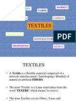 Textile Fibers Properties and Classification and Production of Natural Fibers