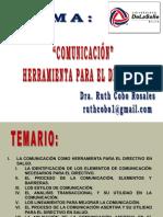 8a Sesión Comunicación herramienta para el Directivo