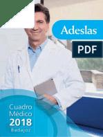 Cuadro Médico Adeslas Badajoz - CuadrosMedicos.com