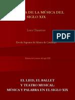 ESMUC - Historia XIX - 16 - Lied y Ballet