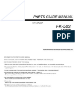 Parts Manual FK-502