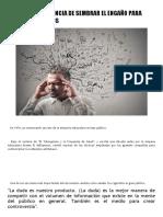 AGNOTOLOGÍA , CIENCIA DE SEMBRAR EL ENGAÑO PARA VENDER PRODUCTOS.pdf