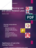 Philippine Nursing Law