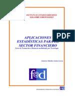 Aplicaciones estadisticas para el sector financiero