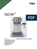 3710 - Máquina de Anestesia Para RM - Manual de Servicio