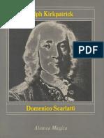 Scarlatti Ralph Kirkpatrick Biografia