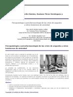 Psicopatologia y Psicofarmacologia de Crisis de Angustia y Otos Trastornos de Ansiedad
