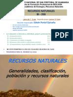 1 Introducción Recursos Naturales