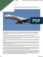 Andes Líneas Aéreas Anunció Un Ajuste Del 40 Por Ciento