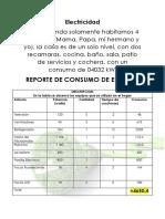 Reporte de Consumo de Energia
