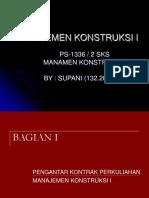 Manajemen Konstruksi i r1