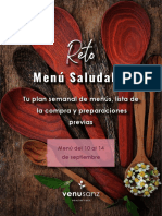 Re to Menu Salud Able Batch Cooking