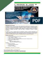 Congreso; Lavado de Dinero y Fraude EEFF_Publicidad