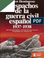 Despachos de la guerra civil es - Ernest Hemingway.pdf