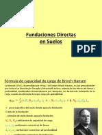 Fundaciones Directas 2017 (Presentacion PRACTICA)