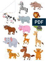 Dibujos de Animaled Selva