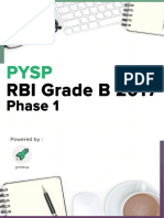 Rbi Grade b Question Paper 2017