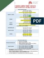 HORARIO NADO LIBRE 2018 19 Temporada Invierno PDF 227 1538462070