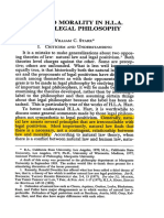 2. Law and Morality in H.L.a. Harts Legal Philosophy