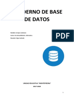 Cuaderno Base de Datos