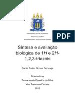 Síntese e Avaliação Biológica de 1H e 2H-1,2,3-Triazóis