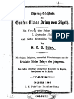 Ehrengedächtnis des Grafen Niclas Zriny