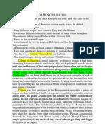 Dilmun Civilization Notes