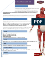 Leaflet 3D Anatomy for Manual Therapies